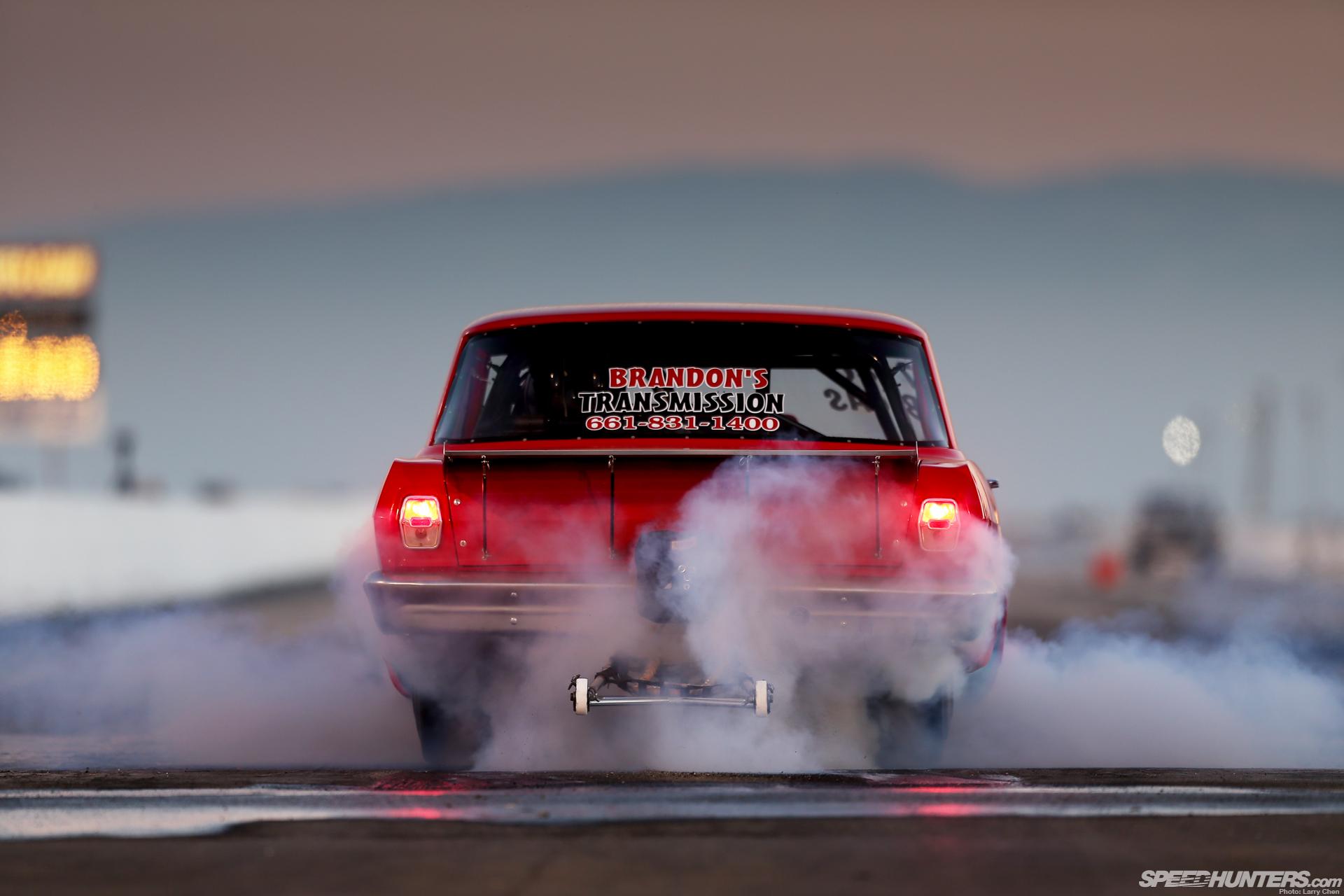 Download Car Burnout Smoke Drag Strip Chevrolet Hot Rods Muscle