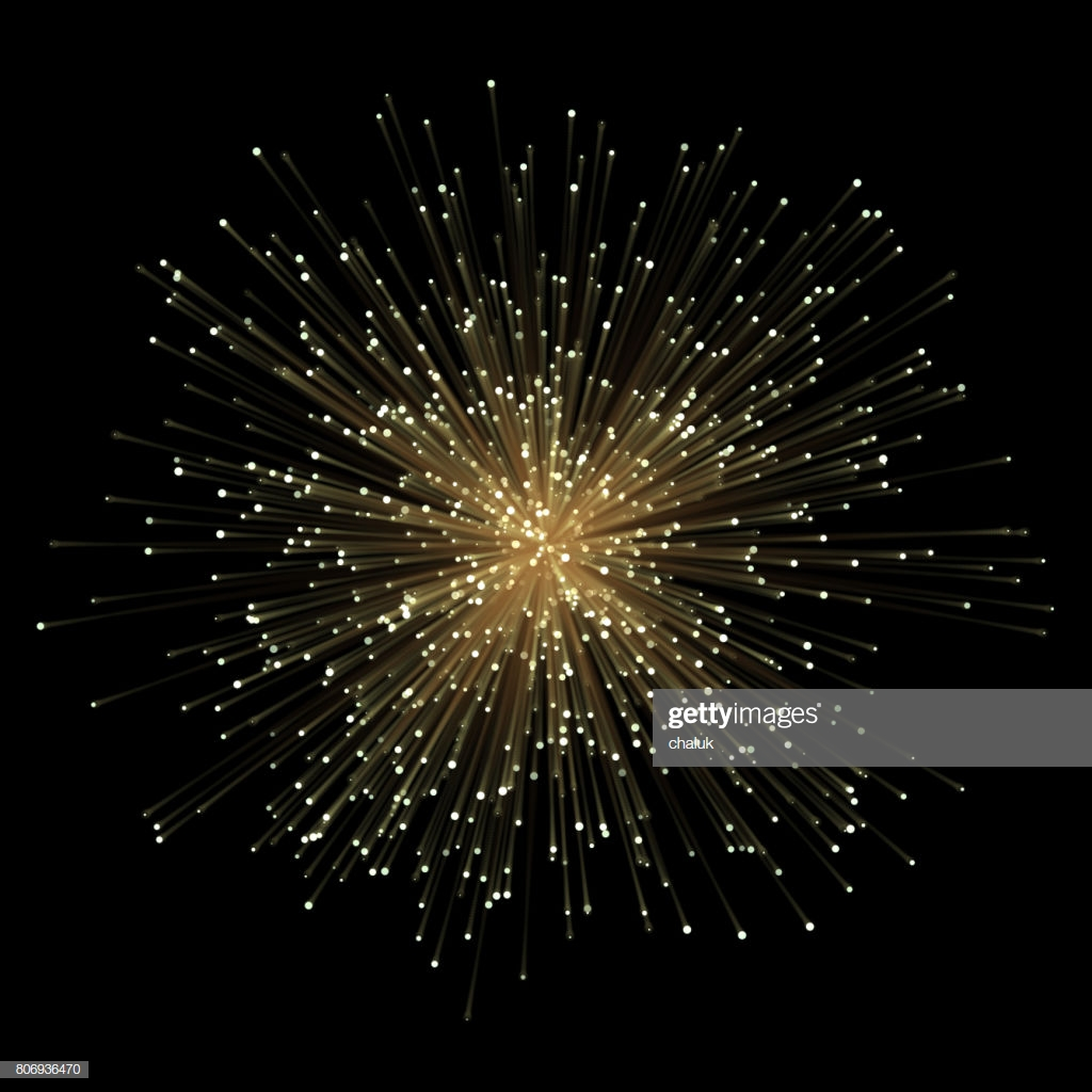 Abstract Gold Fractral Outburst Flash Background With Golden 1024x1024
