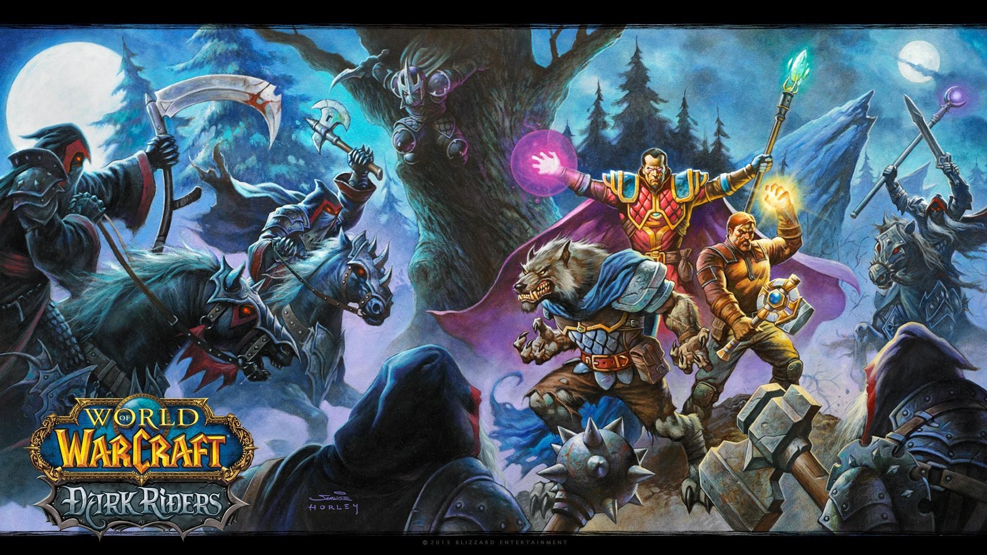Spiele World of Warcraft Blizzard Entertainment Widescreen wallpaper 1920x1080