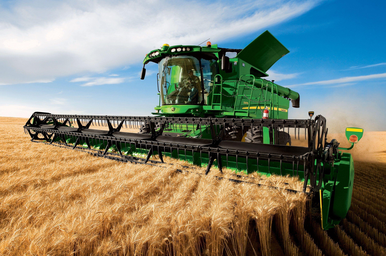 JOHN DEERE tractor farm industrial farming 1jdeere construction 3000x1988