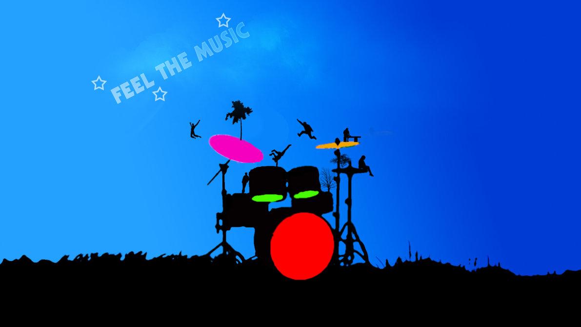 Drums HD Vector Wallpaper by MrLoLLiPoP93 on deviantART 1191x670