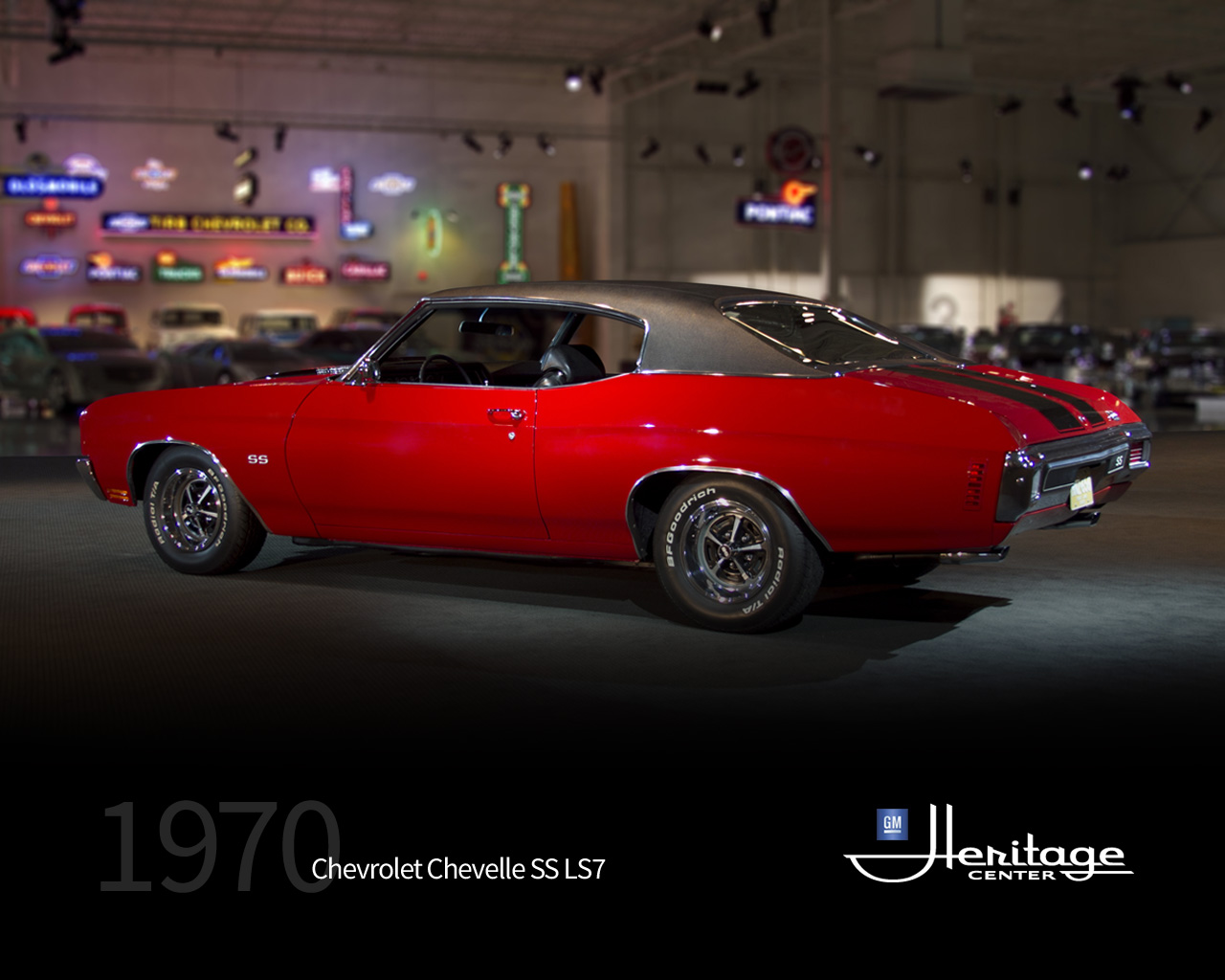 GM Heritage Center Collection 1970 Chevrolet Chevelle SS LS7 1280x1024