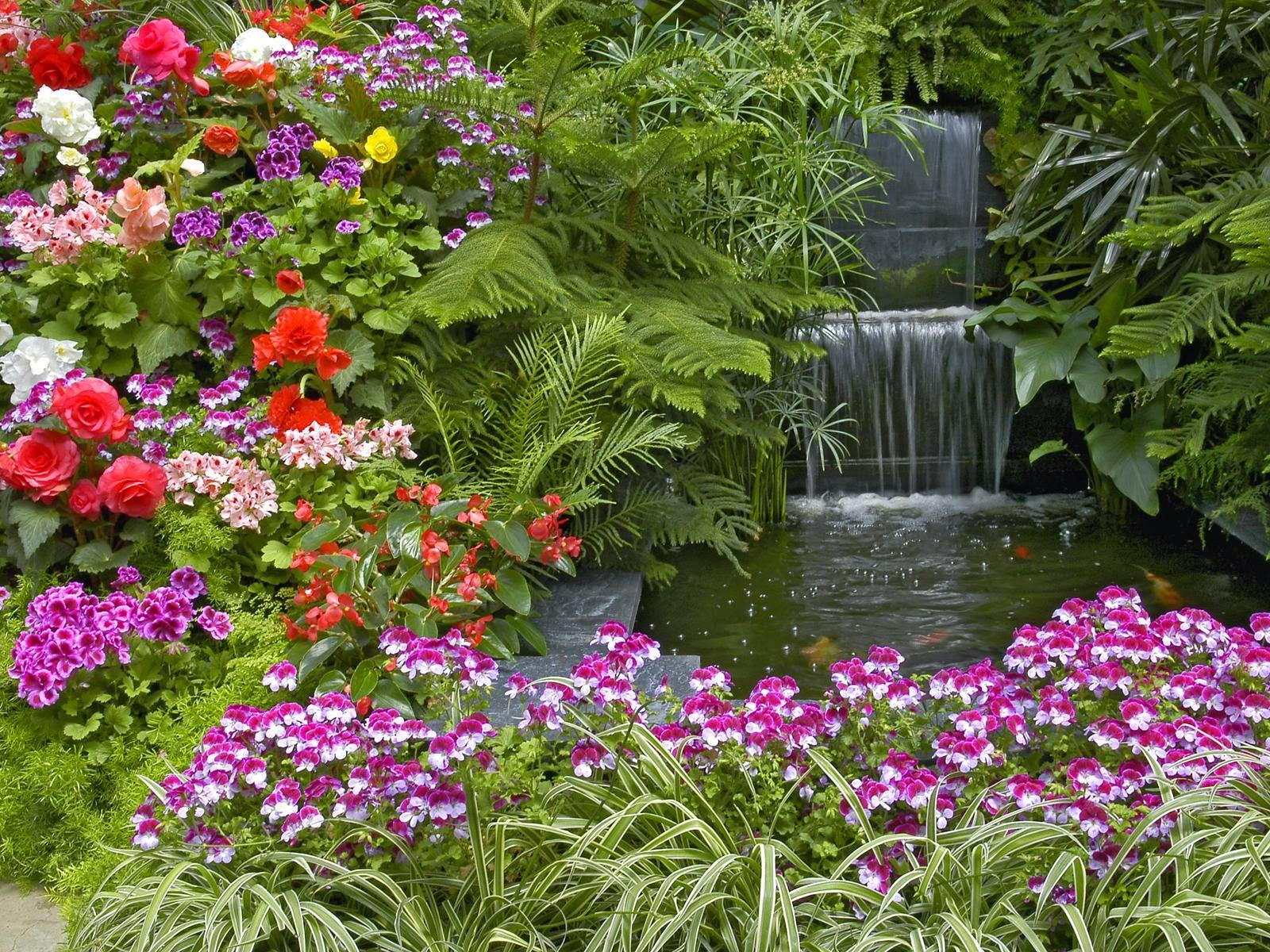 HD Flower Garden Wallpaperhttprefreshroseblogspotcom 1600x1200
