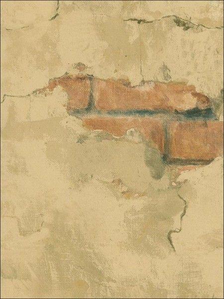 Tuscan Stone Wallpaper Brown Faux Wall Wallpaper 450x600