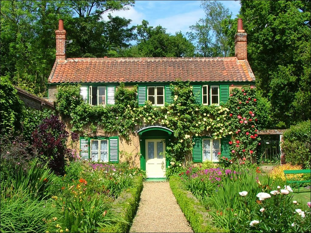 39 Computer English Country Cottage Wallpaper On Wallpapersafari