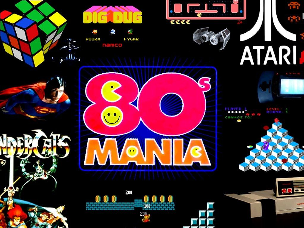 80s Wallpapers 1024x768