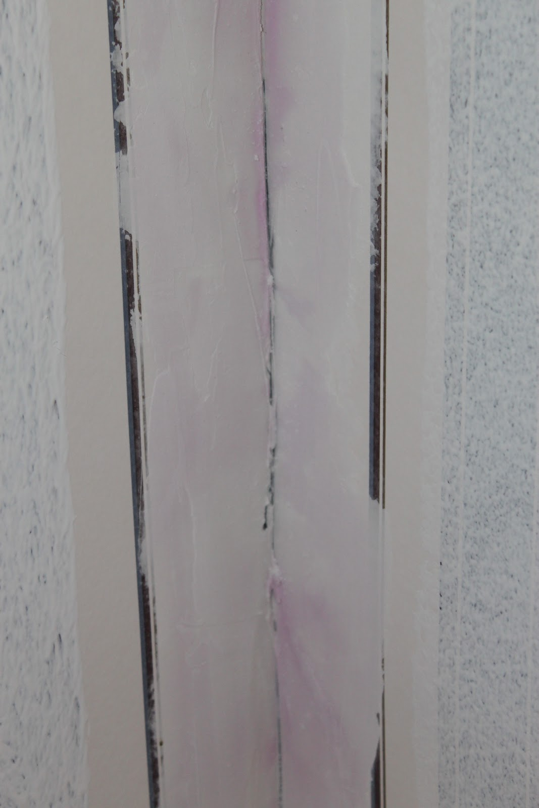 Green Street Before and After Painting Over Wallpaper 1067x1600