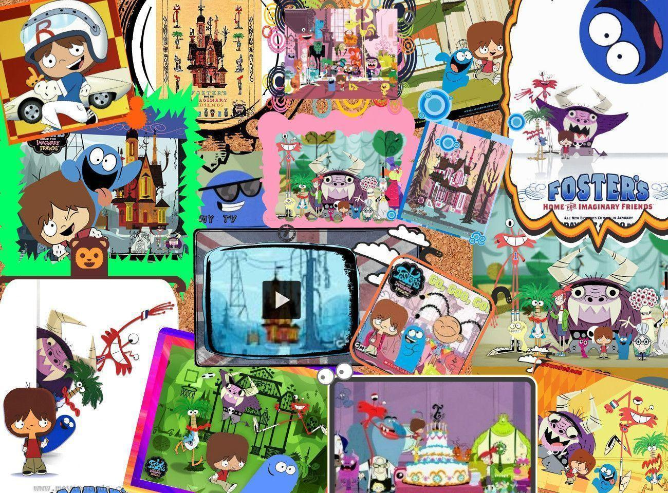 Free Download Fosters Home For Imaginary Friends Wallpapers