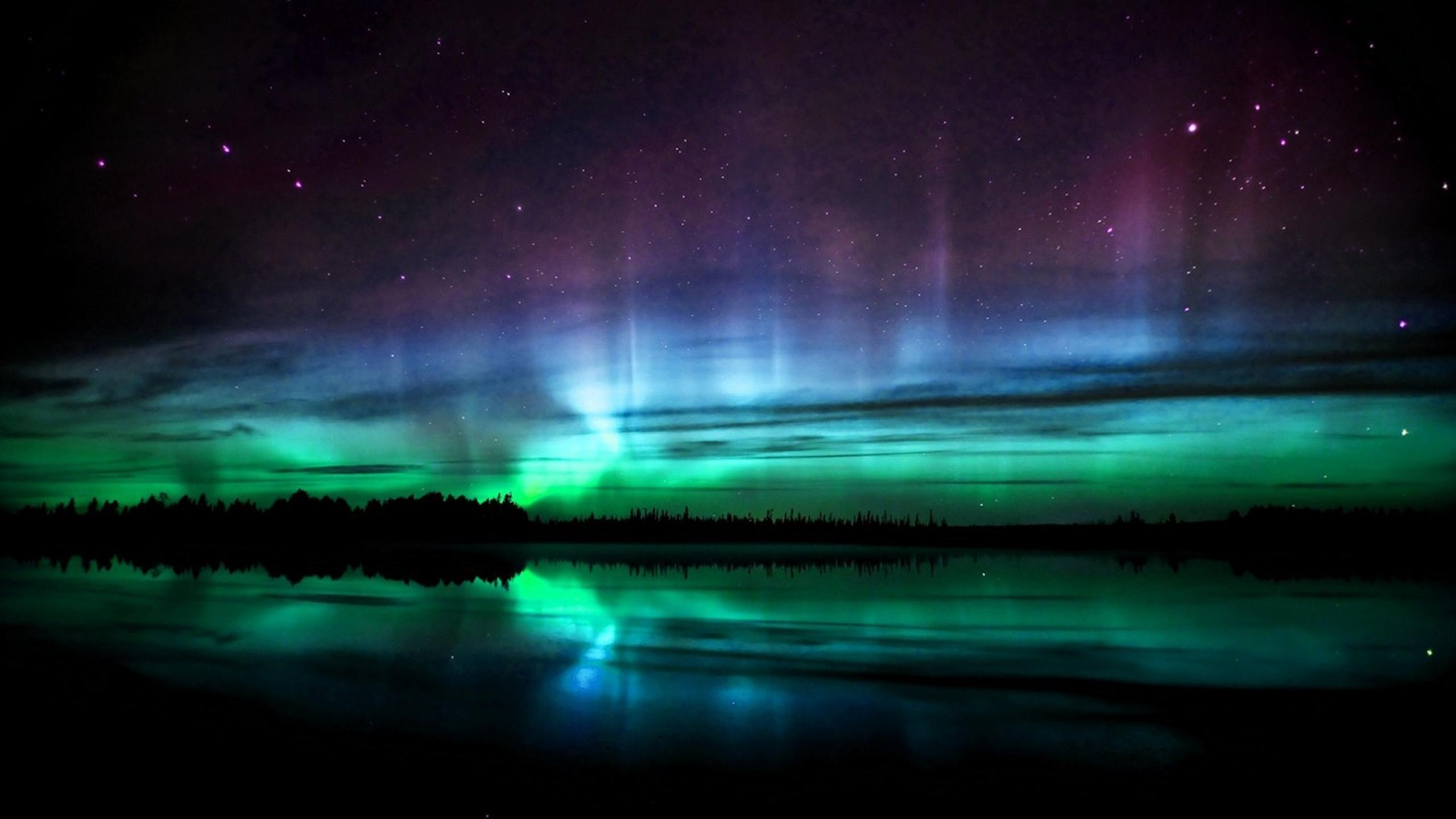 aurora borealis 1920x1080 wallpaper Wallpaper Wallpapers 2560x1440