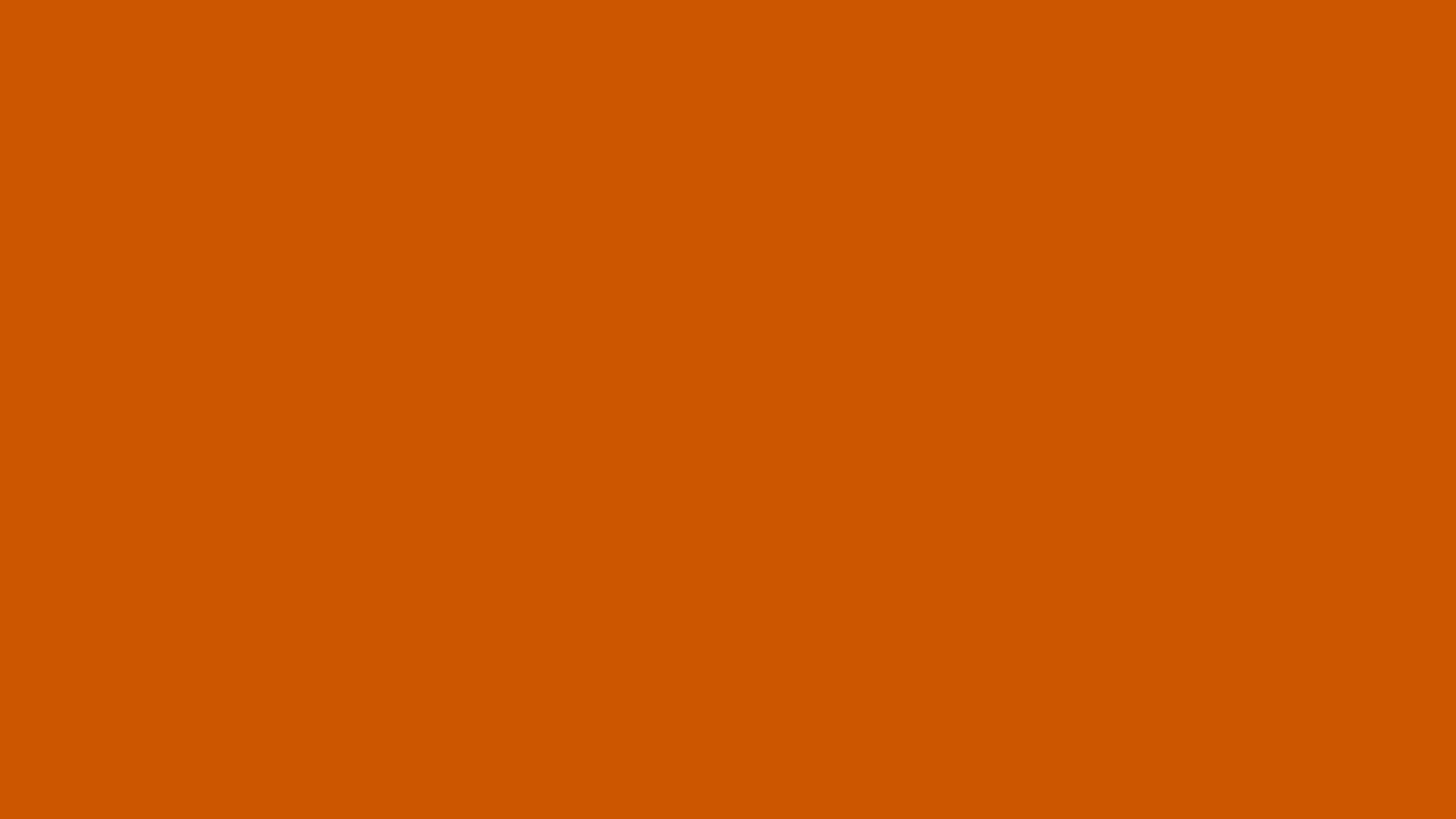 burnt orange color