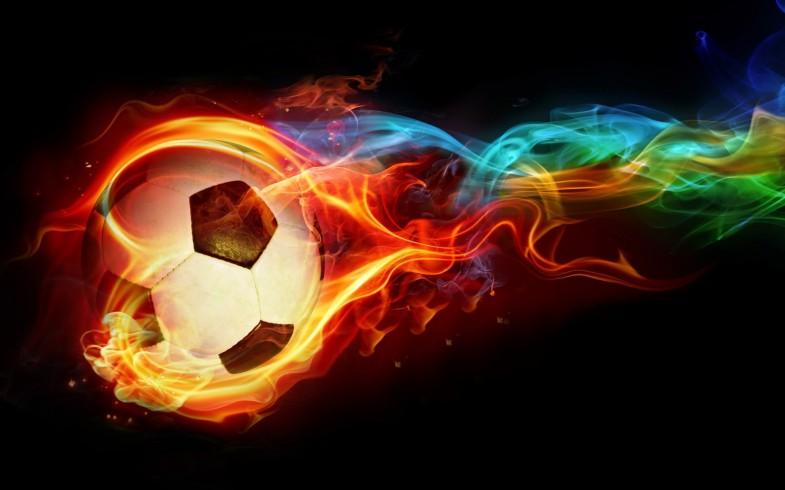 Soccer Ball Background 7111 Wallpaper Wallpaper hd 785x490