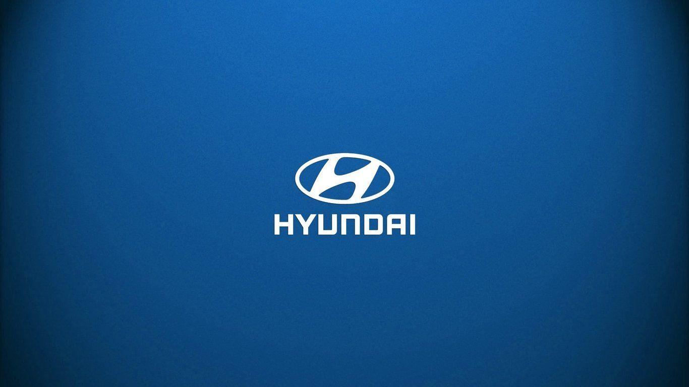 Hyundai Logo Wallpaper Wallpaper Hyundai Logos Pictures of 1366x768