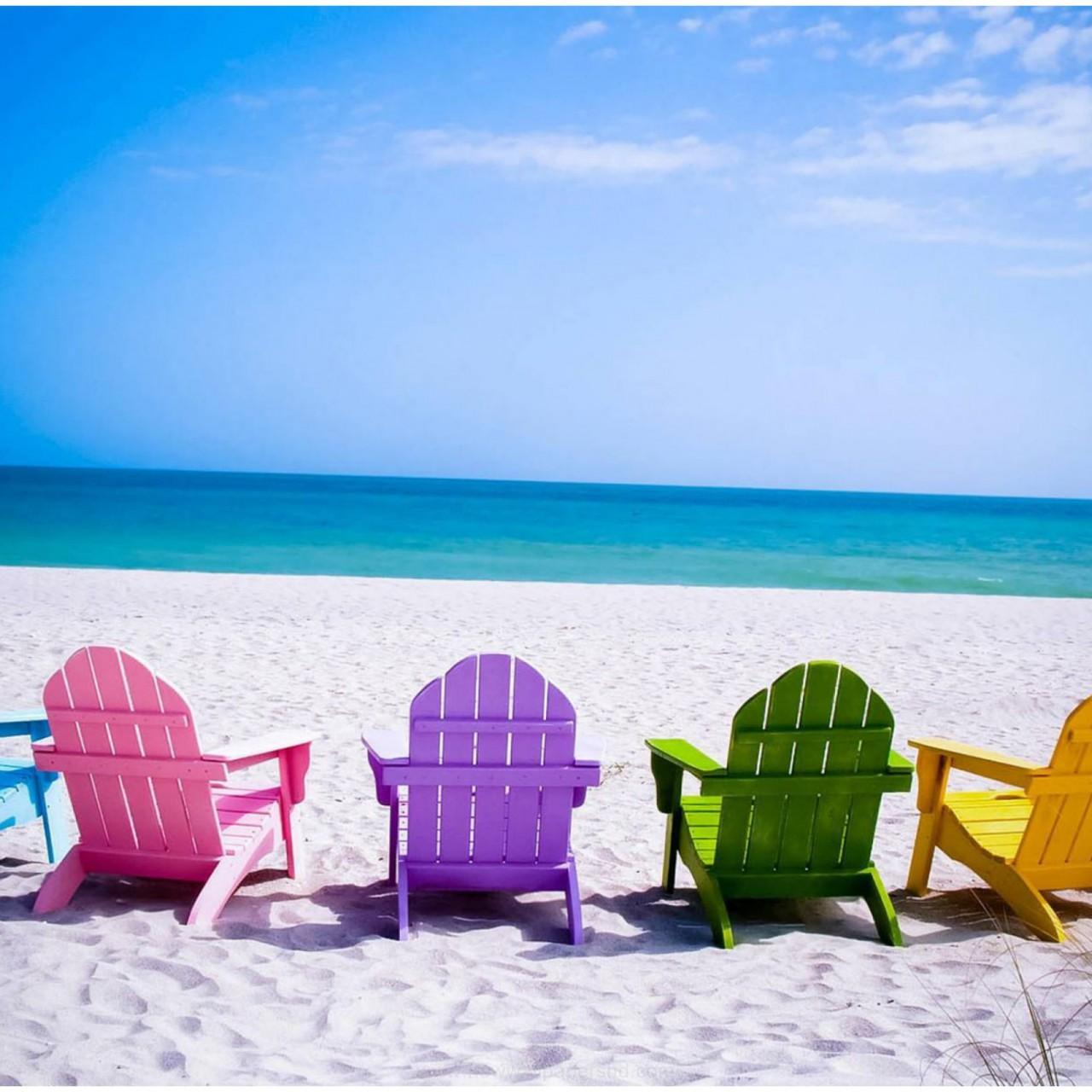 Beach Chair Wallpaper