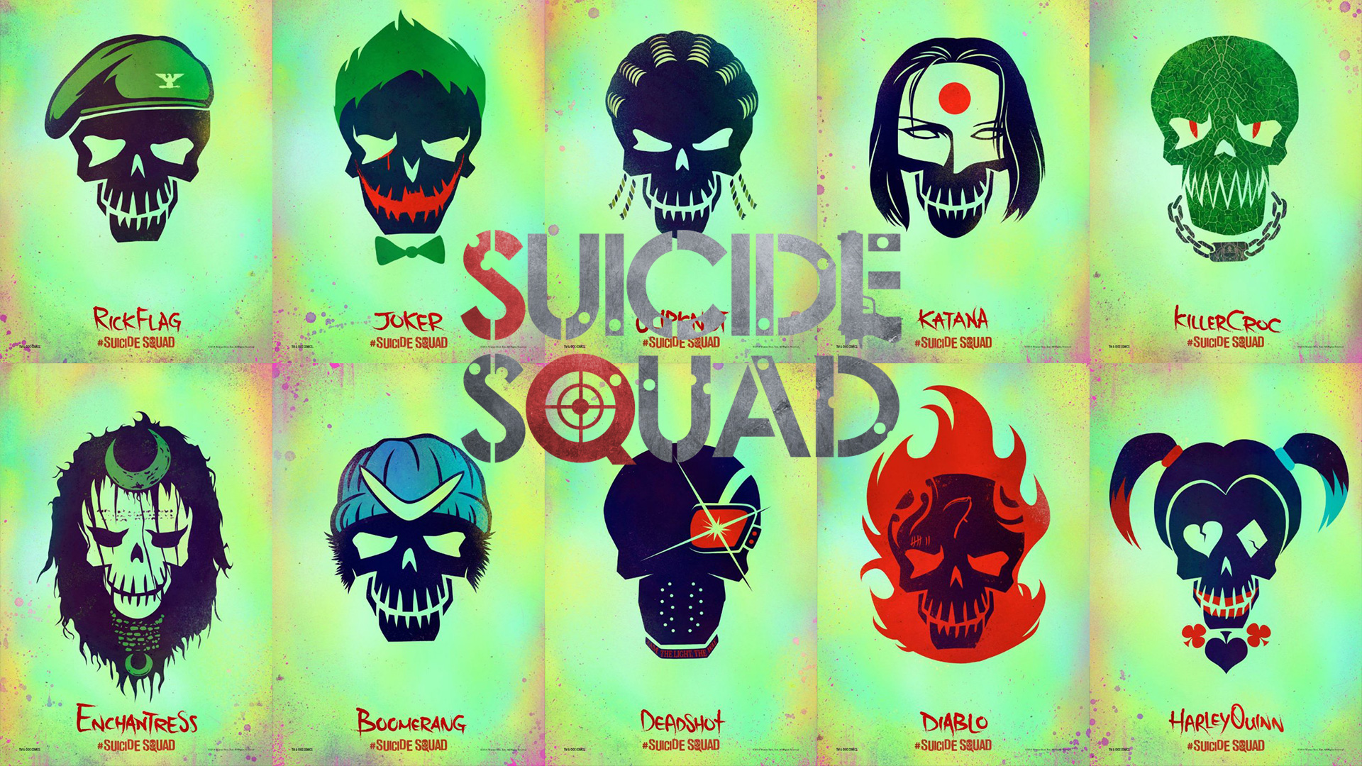 Suicide Squad movie wallpaper hd HD Wallpapers Images Stock 1920x1080