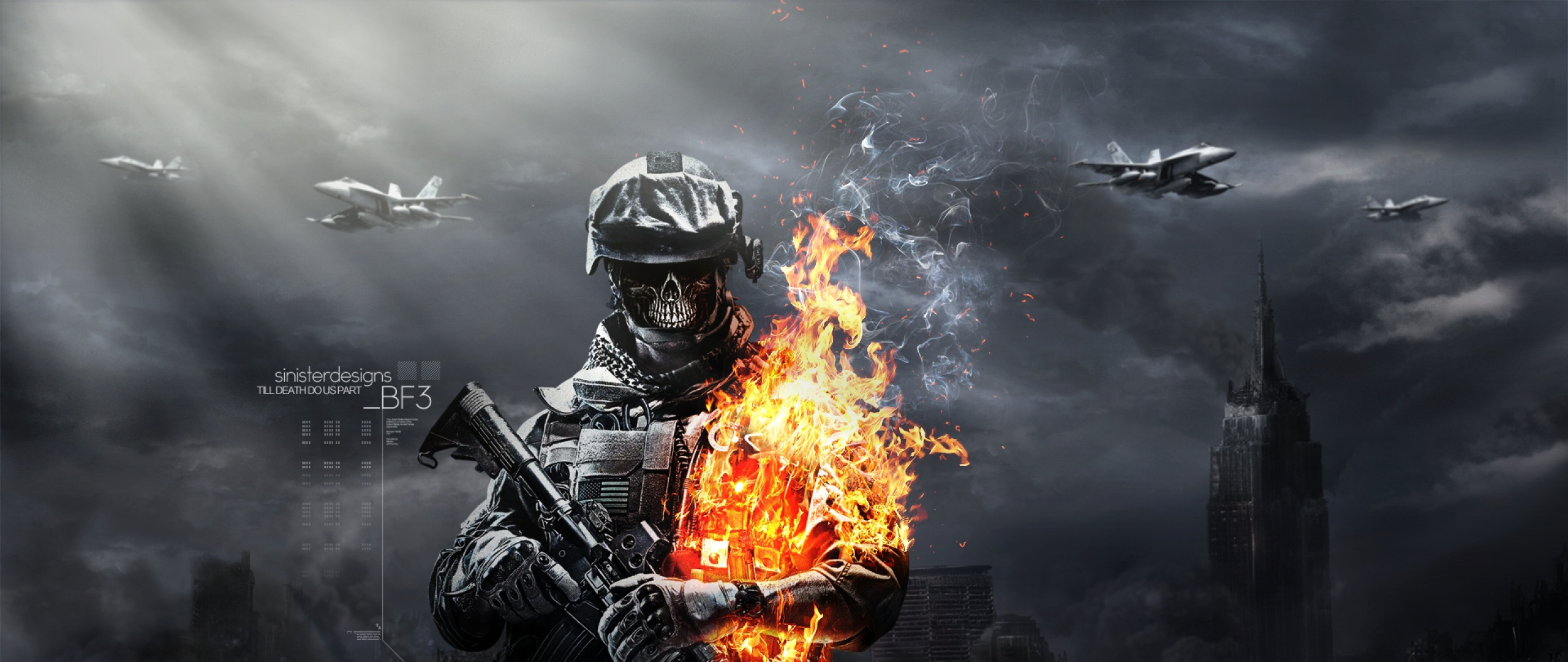 Download Wallpaper 1280x1280 Battlefield 4 Game Ea: 2560X1080 Wallpaper