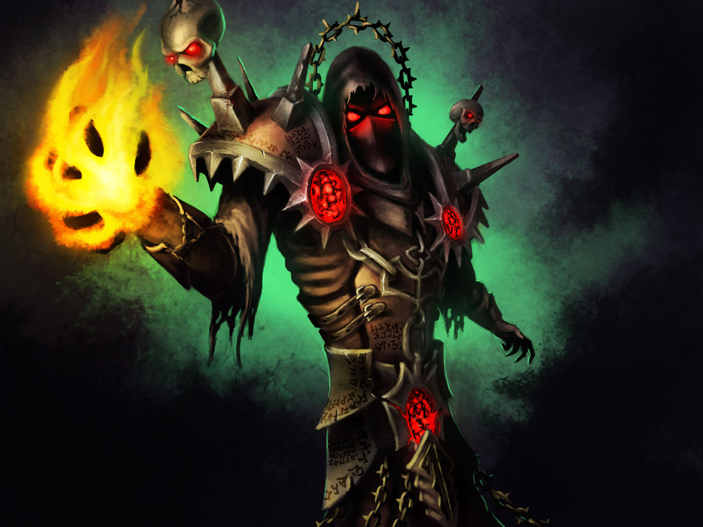 Free Download Undead Warlock By Koz23 1024x768 For Your