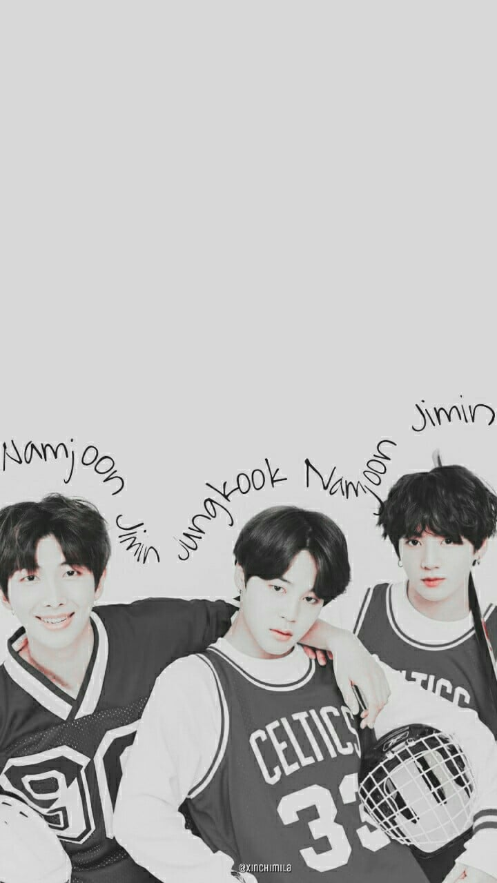 BTS Wallpaper Lock Screen Kim Namjoon RM Park Jimin Jeon Jungkook 720x1280