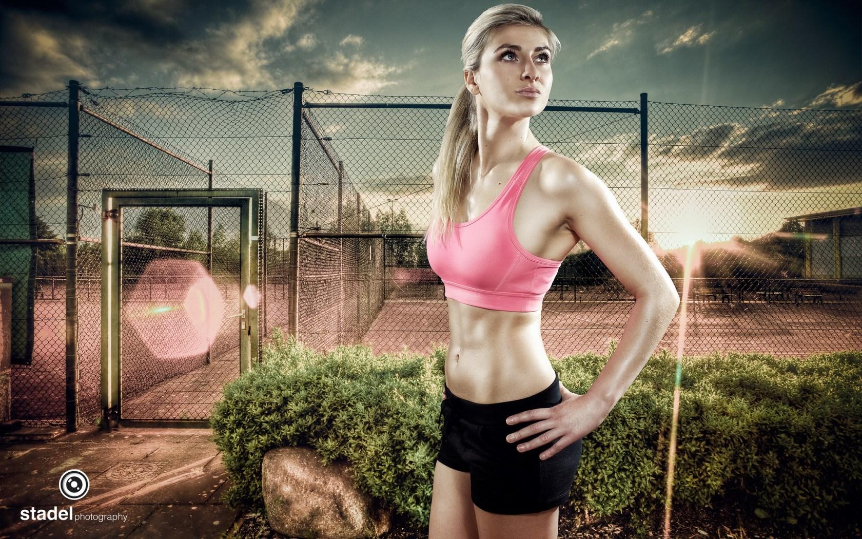 Sport Wallpaper Girls: Fitness Wallpapers Women
