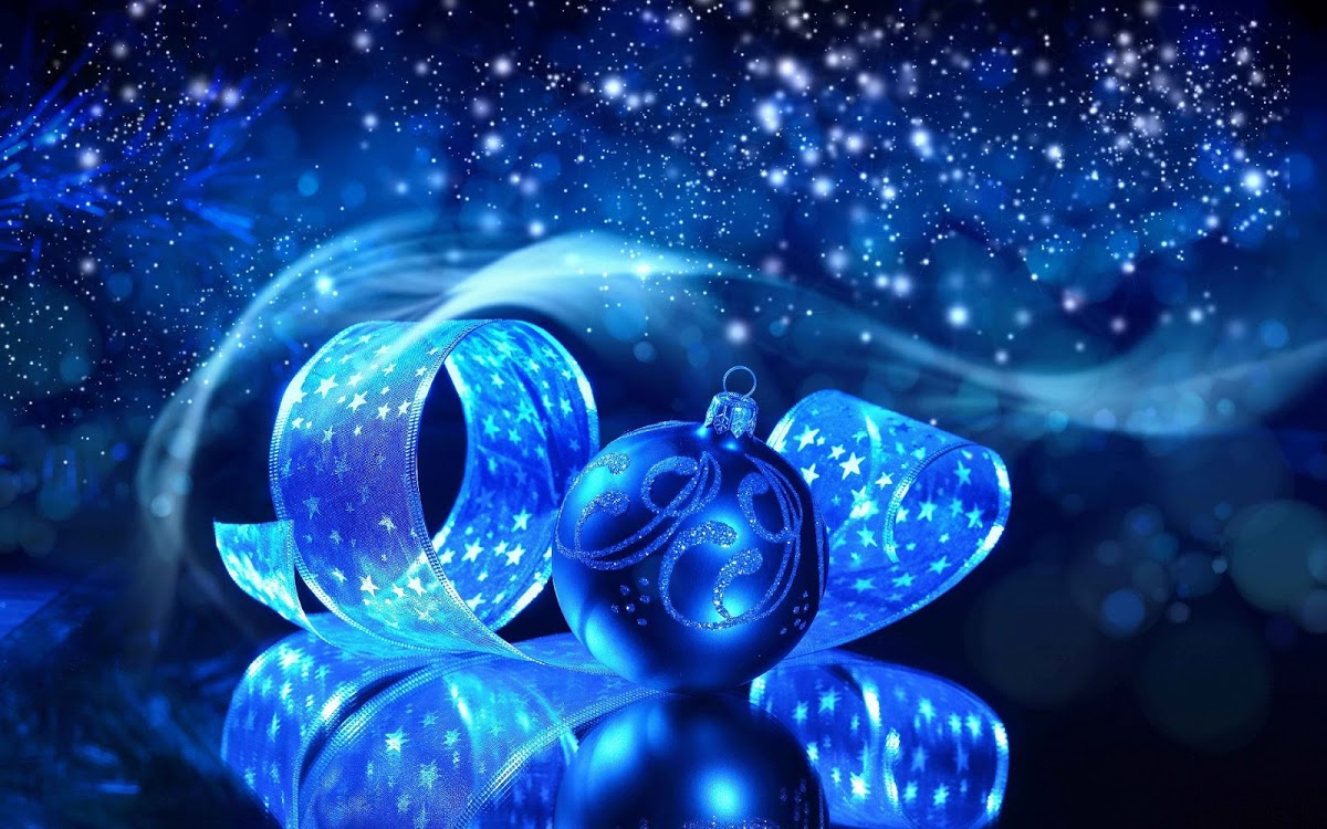 Blue Christmas Wallpaper on WallpaperSafari