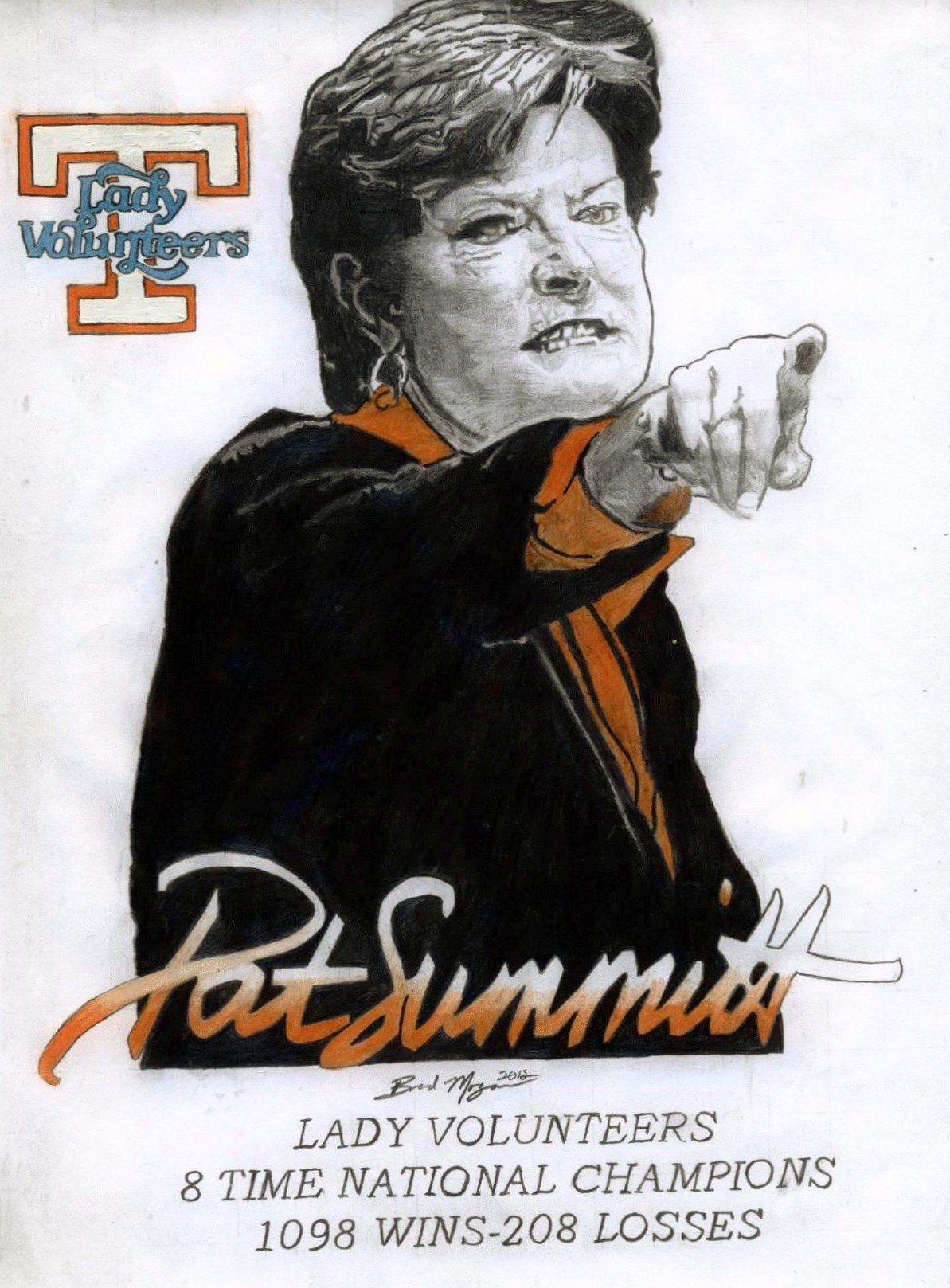 Tennessee Lady Vols Basketball images Pat Summitt HD 1193x1617