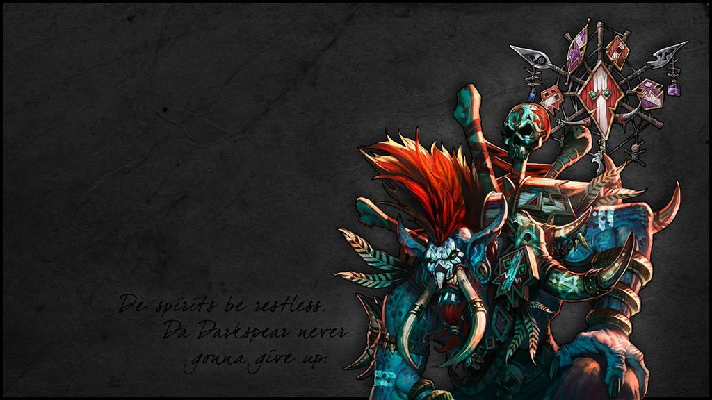 World Of Warcraft Troll Wallpaper By PsychoVivi 1024x576