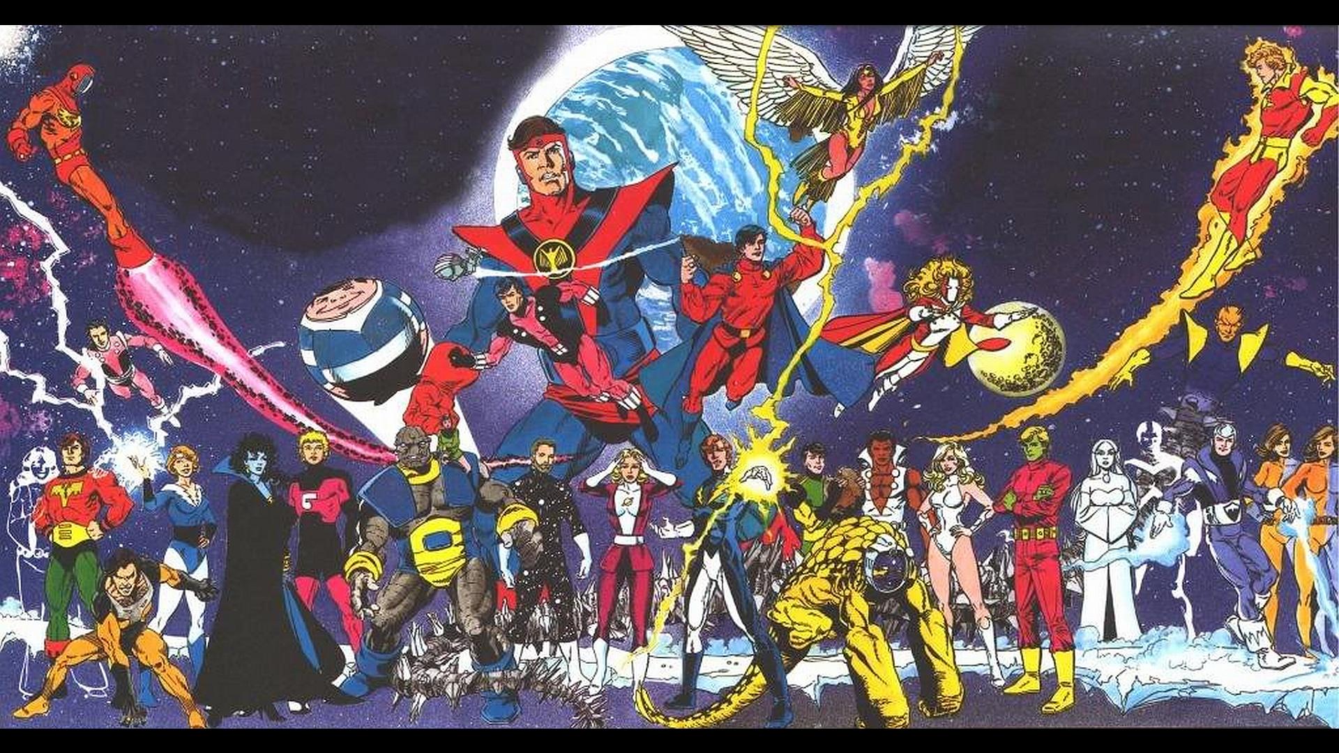 Legion Of Super Heroes Computer Wallpapers Desktop 1920x1080