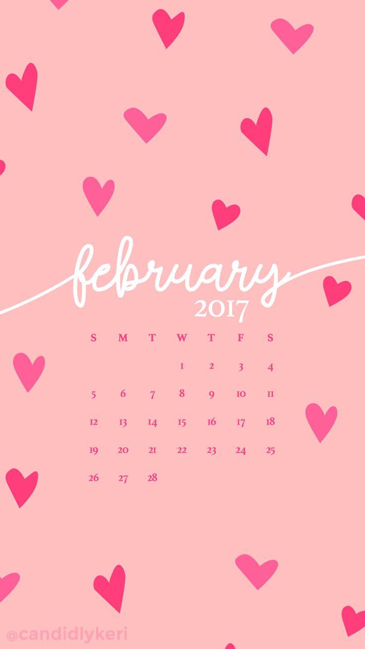 25 unique February calendar ideas 736x1308
