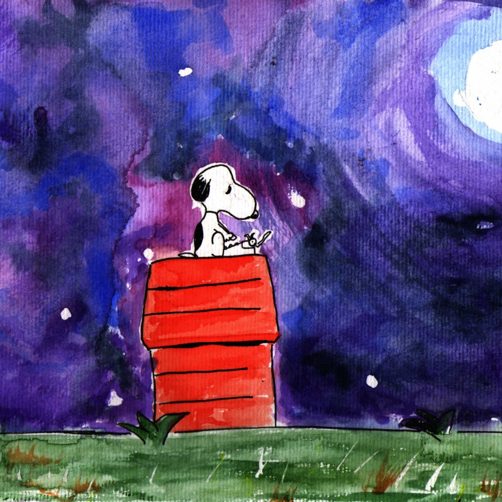 Snoopy Screensaver Download 1024x1024
