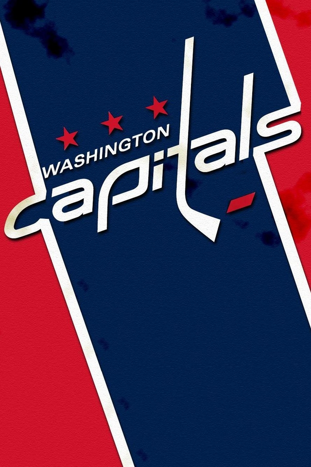 Capitals NHL logo   Download iPhoneiPod TouchAndroid Wallpapers 640x960
