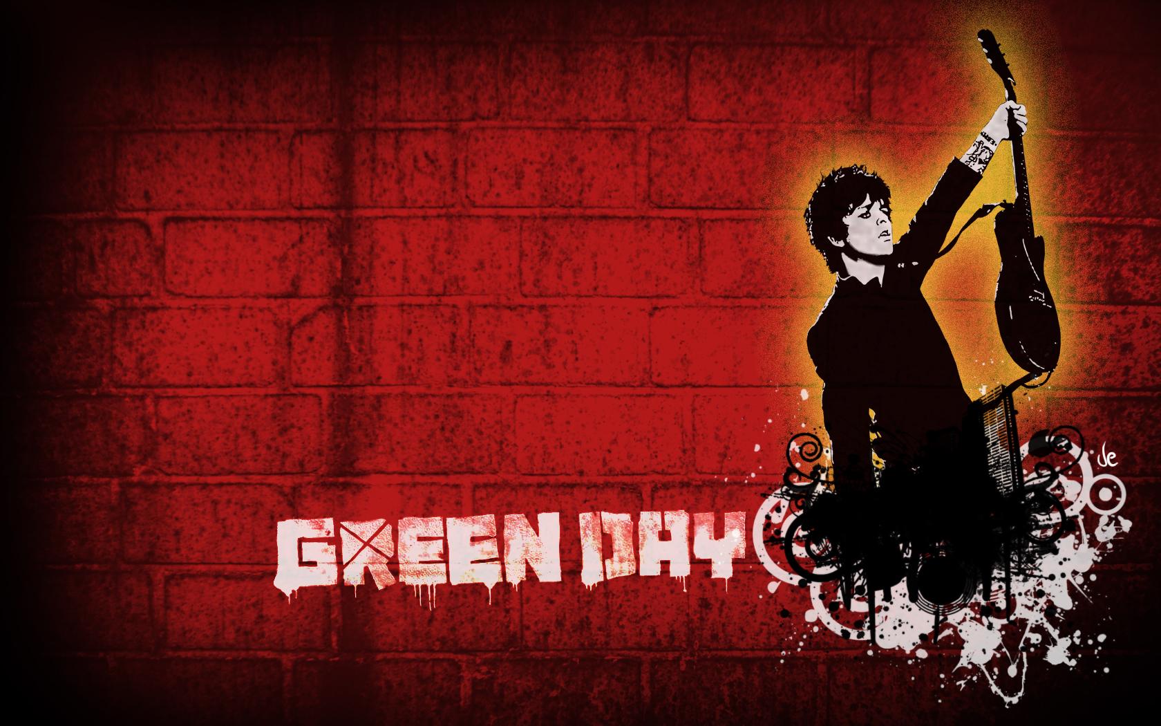 Green Day Wallpaper Full HD 1680x1050