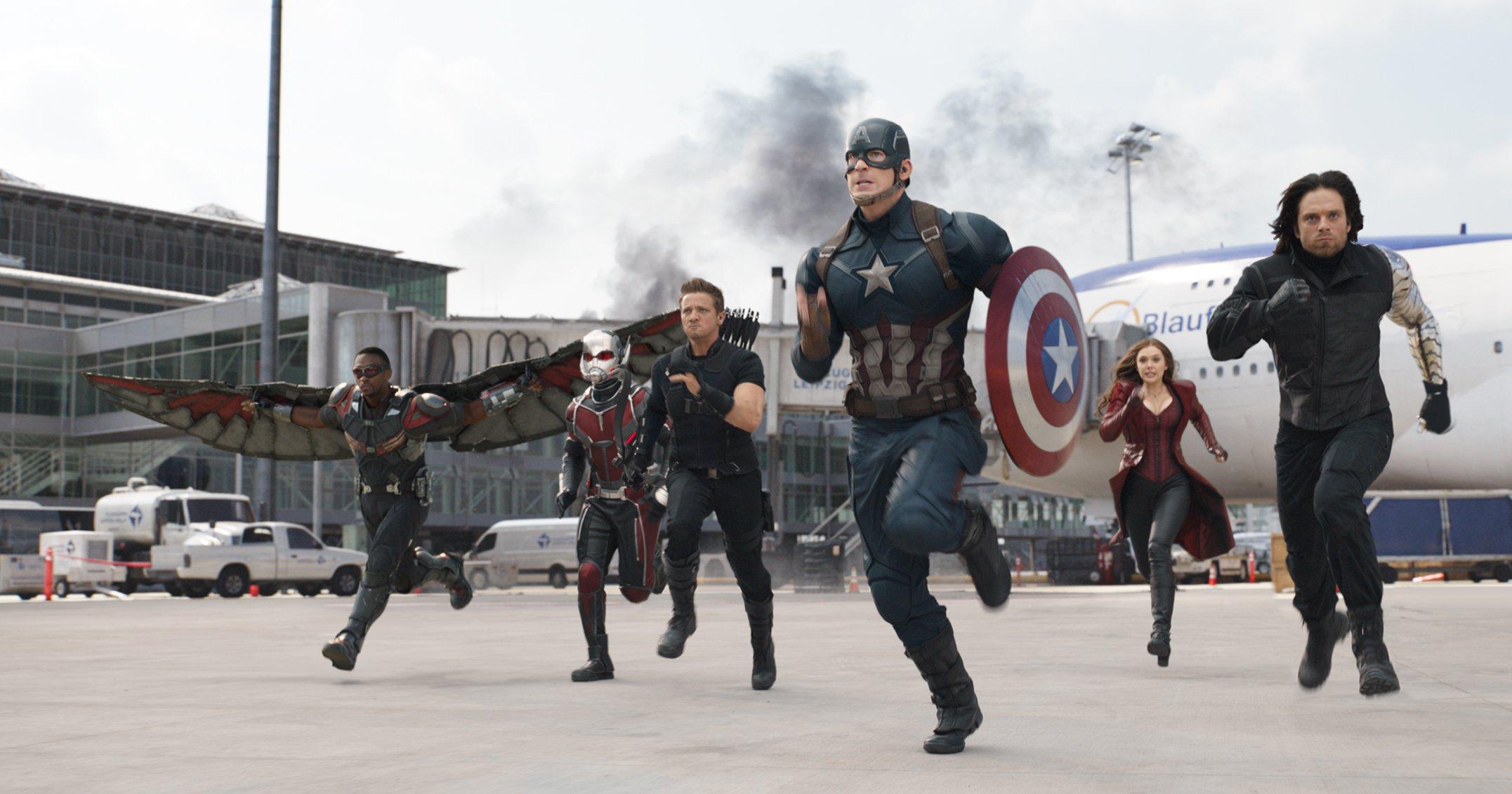 Captain America Civil War Fight Scene Wallpaper Movies HD Wallpapers 2153x1131