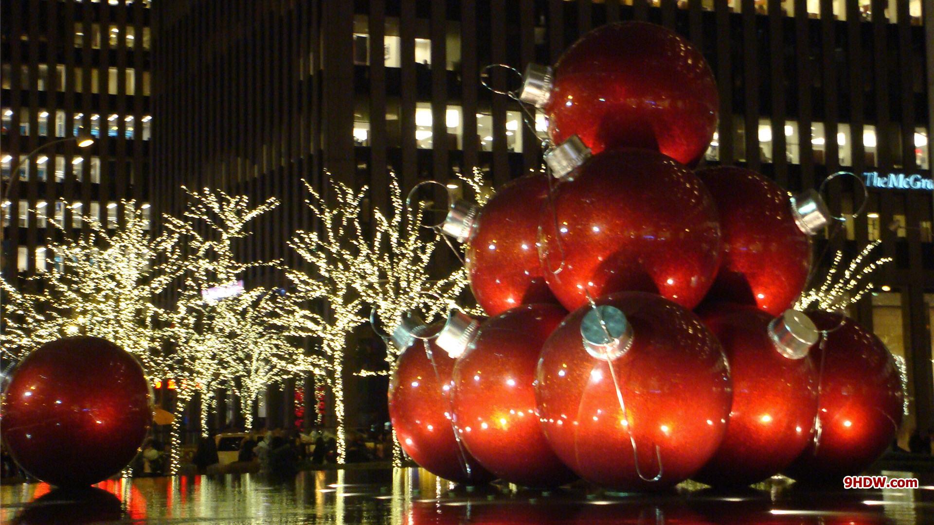 New York Christmas Desktop Wallpaper HD 1920x1080 2143 1920x1080
