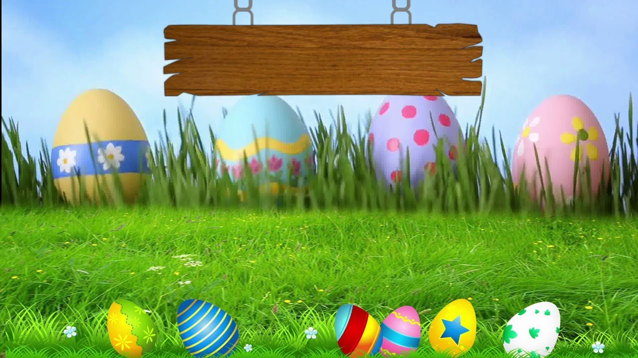 Easter Backgrounds 1280x720