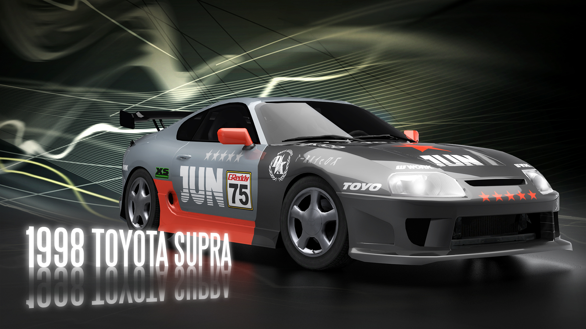 Toyota Supra desktop wallpaper Supra wallpapers 1920x1080