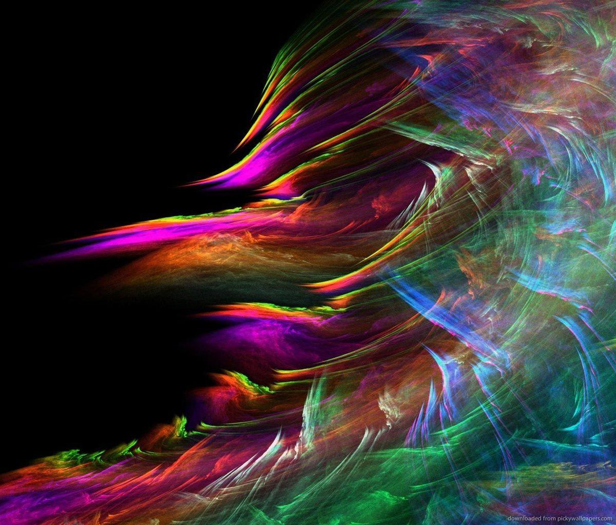 Download Windstorm Fractal HD Wallpaper For Samsung Galaxy Tab 1200x1024