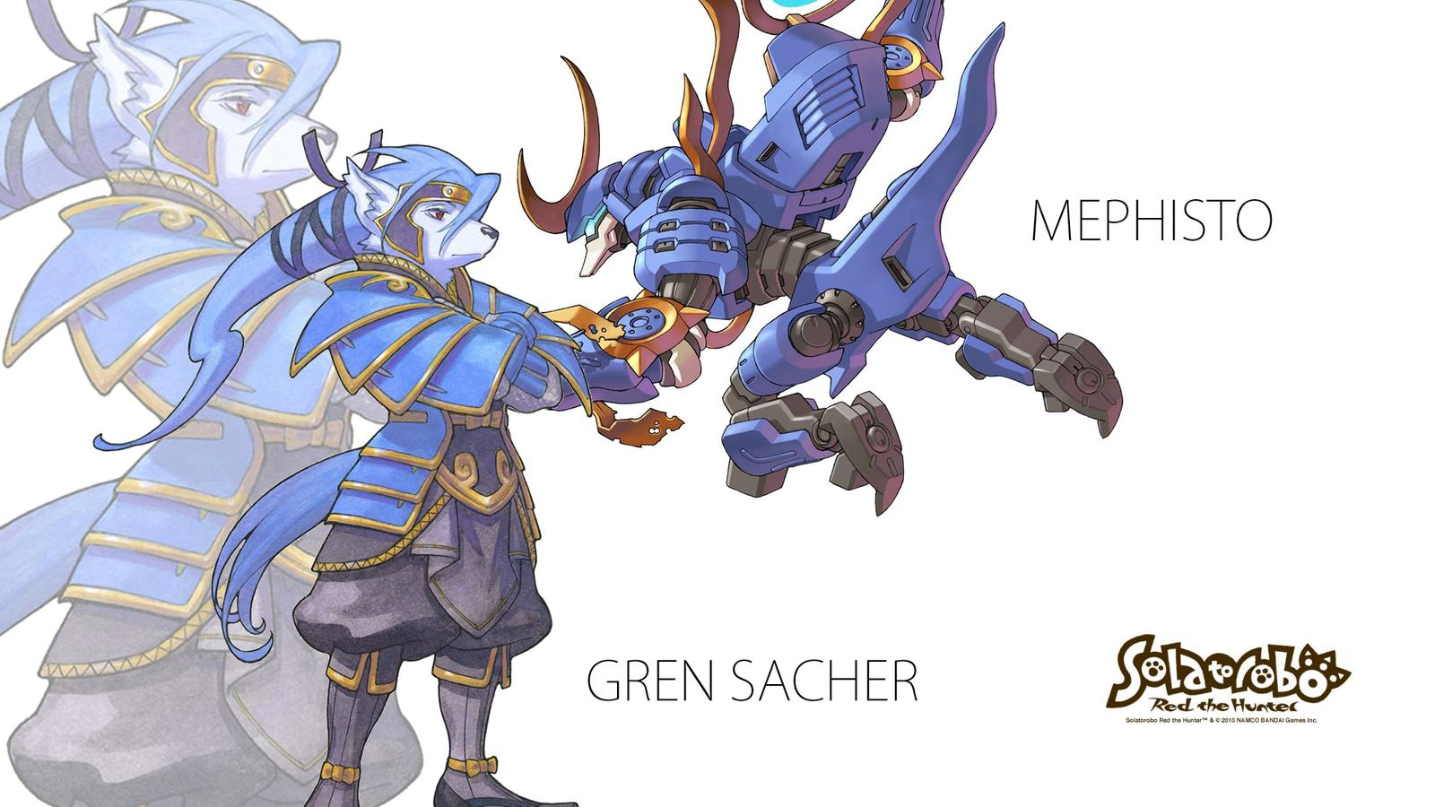 Gren Sacher Wallpaper by Komi Kitsune 1600x900