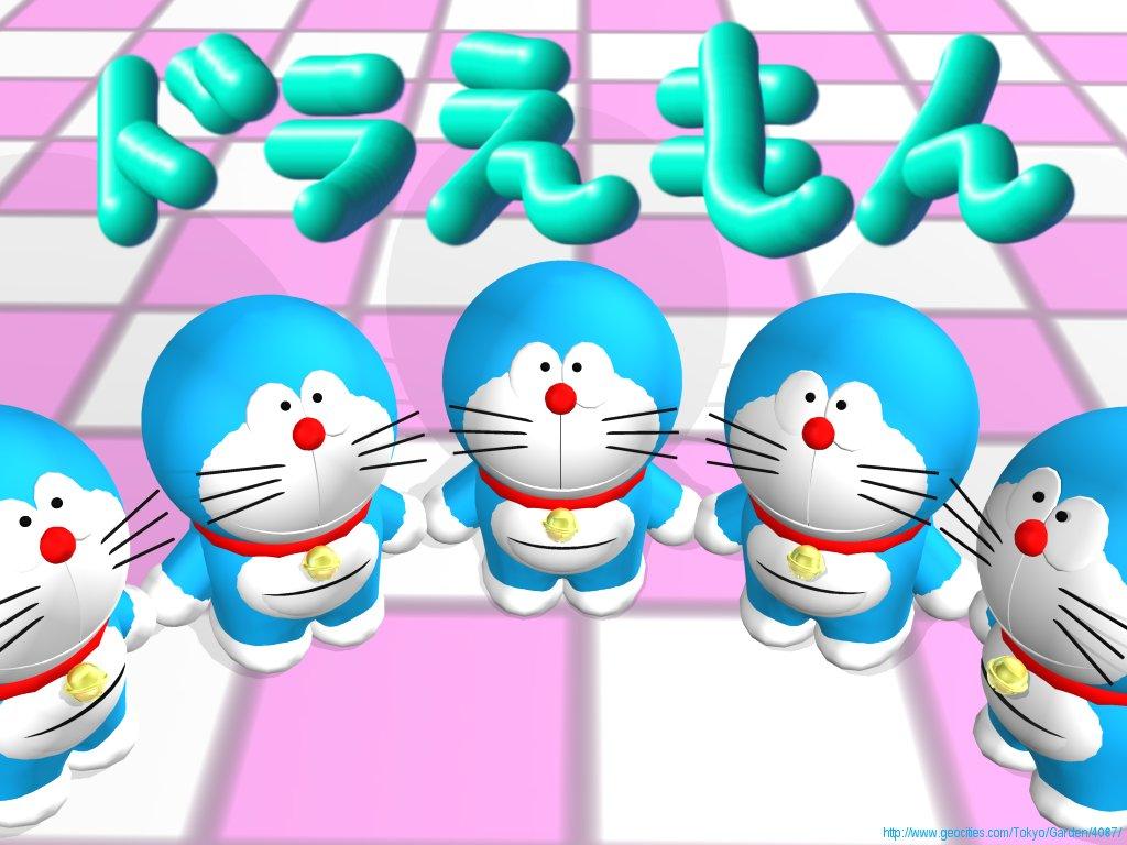 Doraemon 3D Wallpaper   Wallpapers HD Fine 1024x768