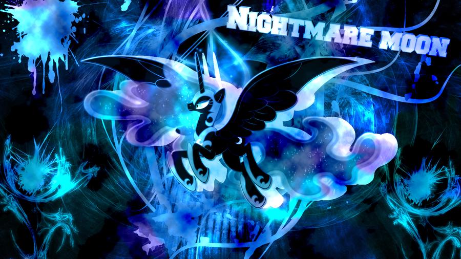 Nightmare Moon Mlp Wallpaper Nightmare moon by joshiepup 900x506