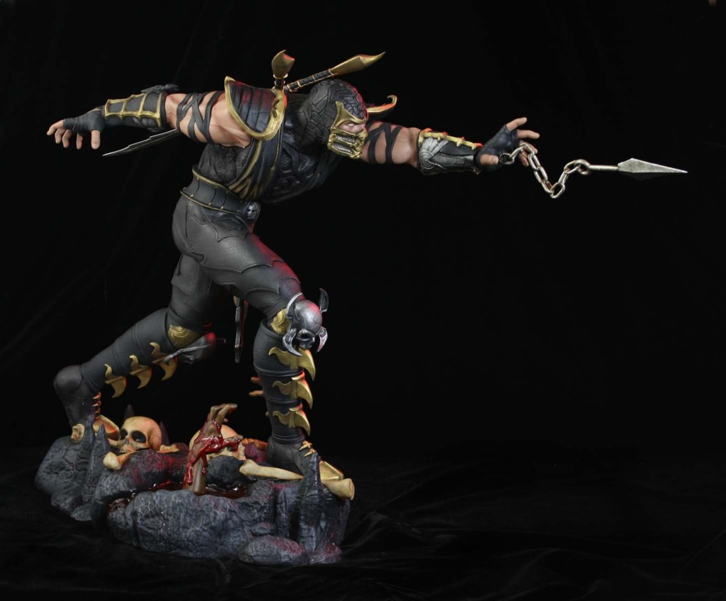 Scorpion Mortal Kombat 9 FOTOS 3D 1023x847