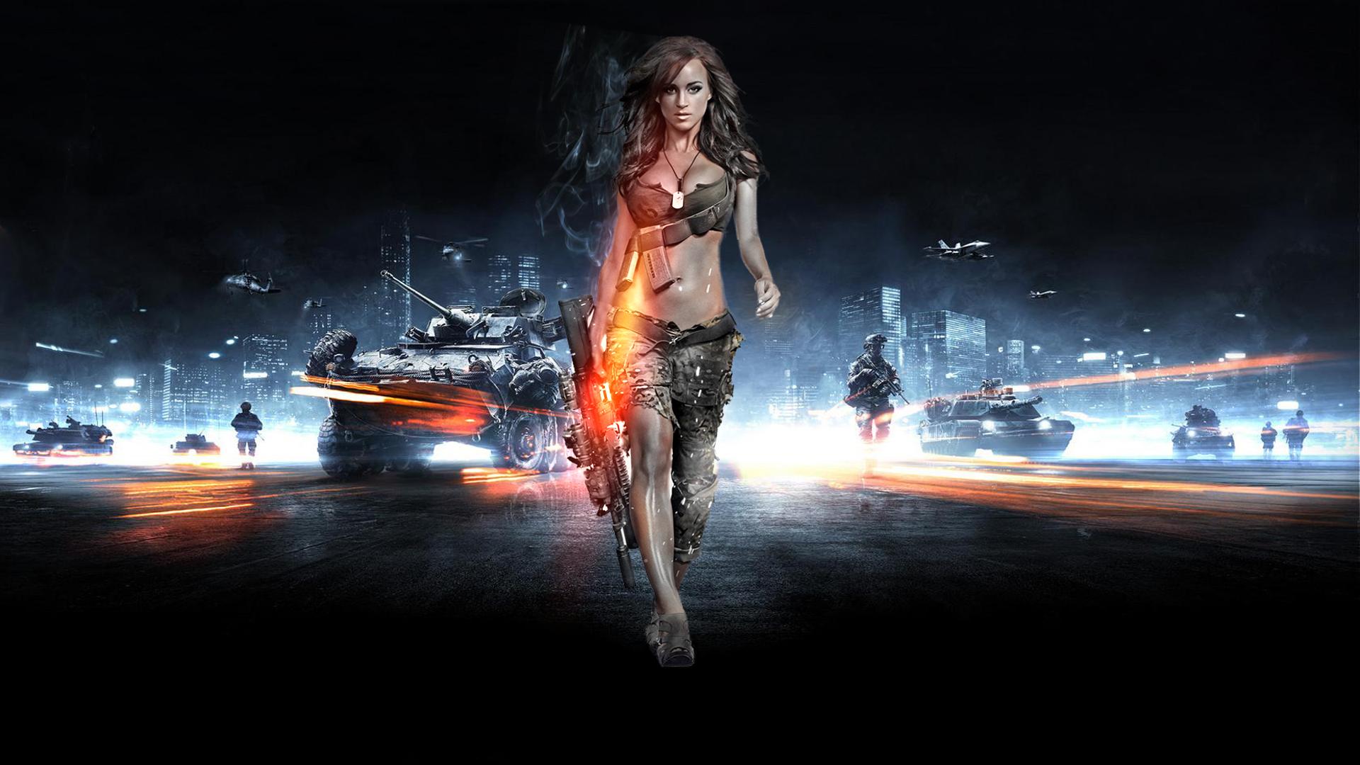 Battlefield 3 солдат линии оружие  № 3460679 бесплатно