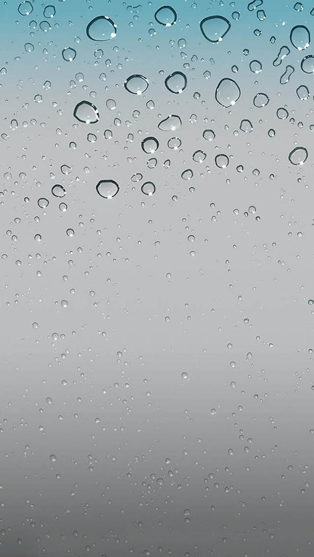 IOS 5 Wallpaper Water Drops HD iPhone wallpapers 640x1136