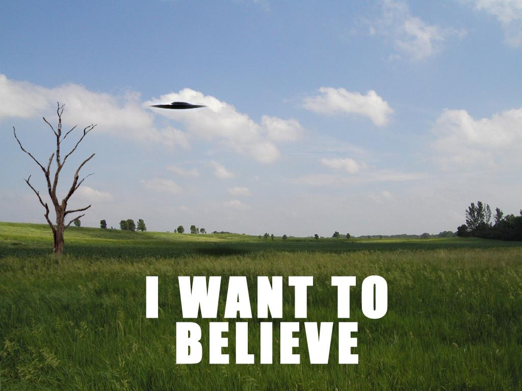 46 I Want To Believe Wallpaper On Wallpapersafari