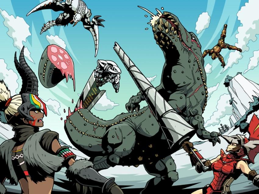 Big Ol Monster Hunter Dump   Album on Imgur 850x637