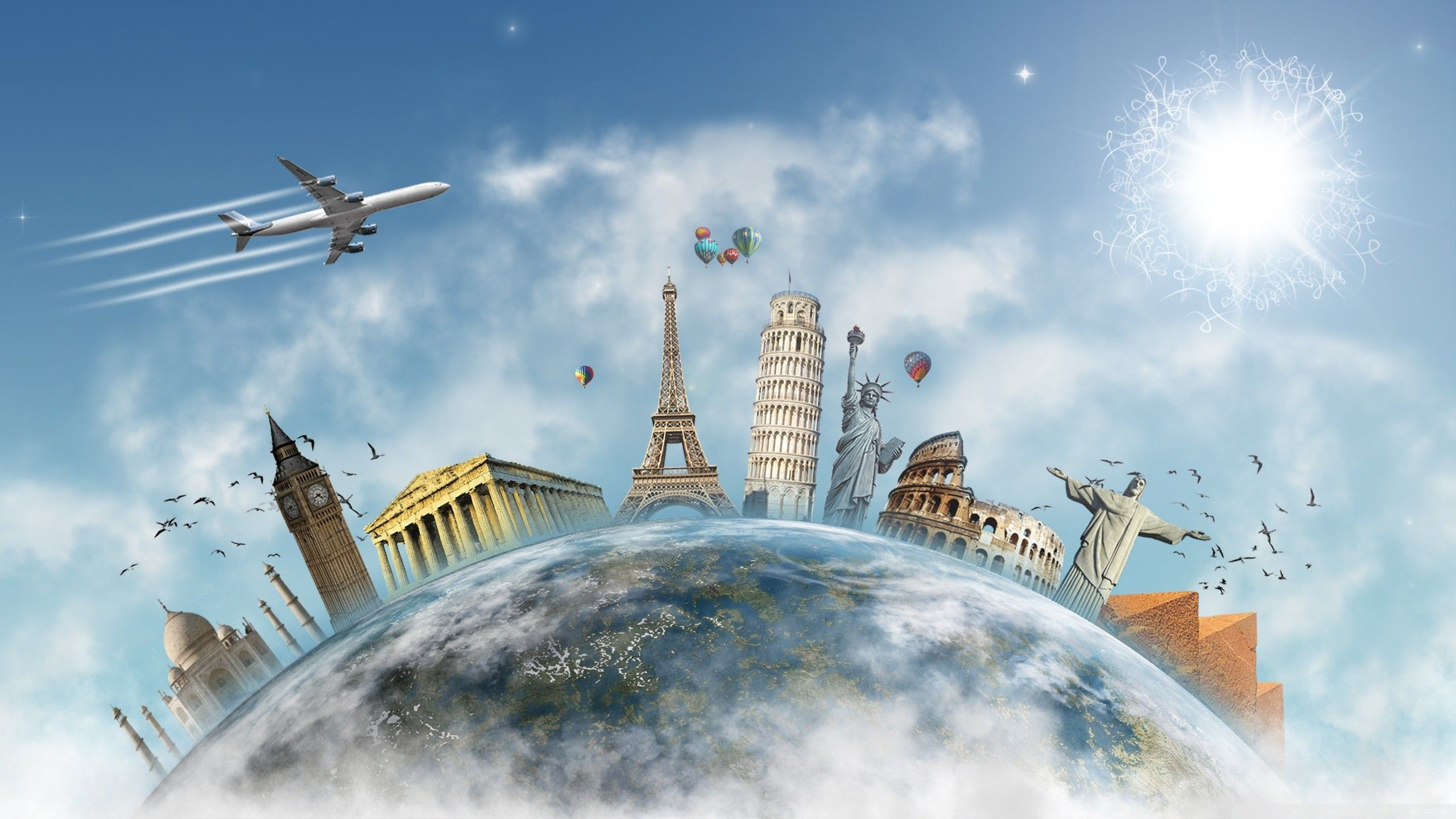 Traveling Wallpapers   Top Traveling Backgrounds 2560x1440
