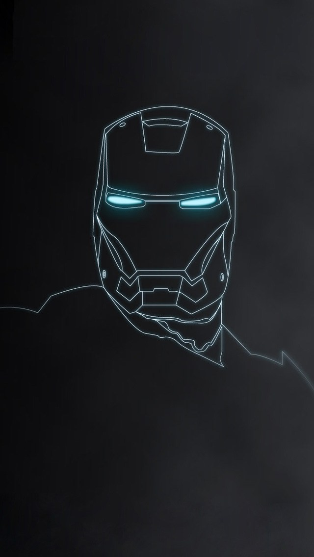 Iron Man Mask HD Wallpapers for iPhone 5 Top 10 HD Iron Man Wallpapers 640x1136