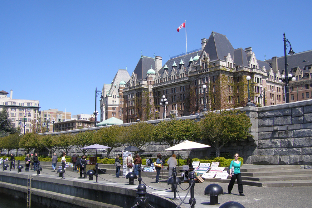Pin Empress Victoria Bc Canada World City Wallpapers 1000x667