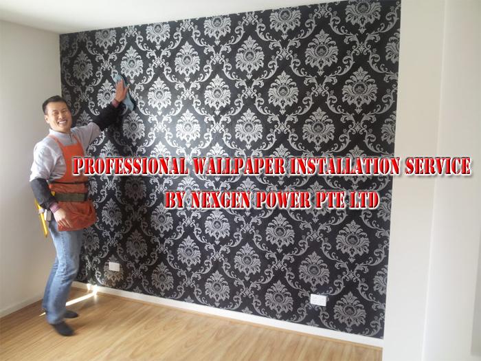 Wallpaper Installation Deposit 700x525