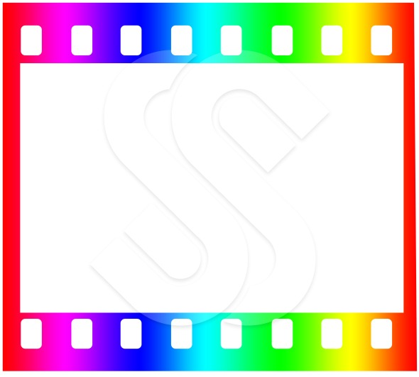 Film Strip Border Background Film strip single frame 590x531