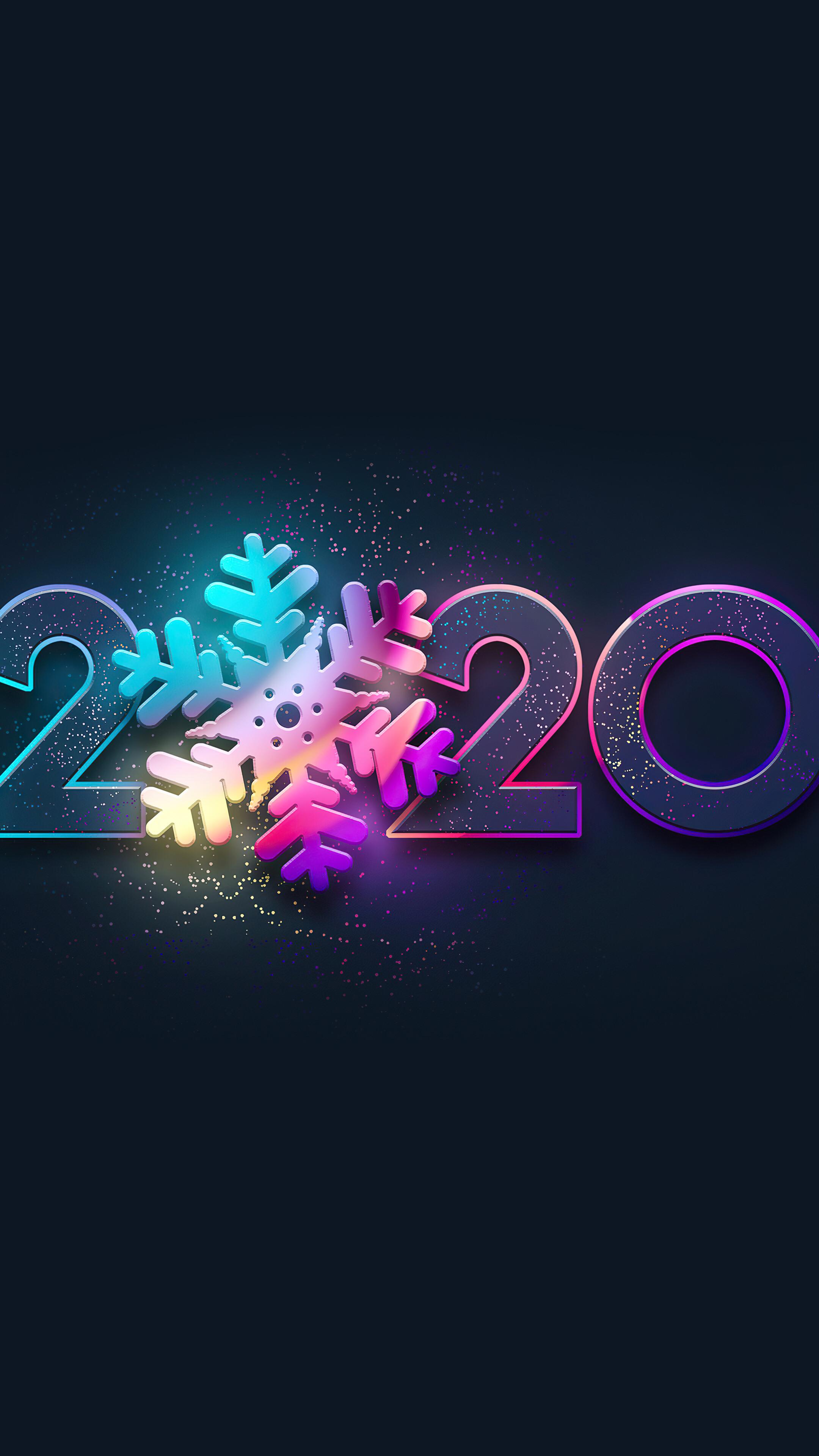 2020 New Year 4K Wallpaper 42308 2160x3840