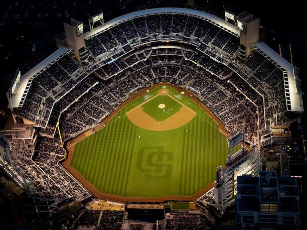 Field Notes Petco Park Home of the San Diego Padres DIY Shed 616x462